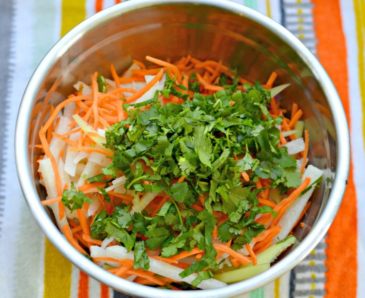 This Jicama and Cucumber Slaw is a perfect side dish for all of your summer favorites - it is fresh, crunchy, and delicious.