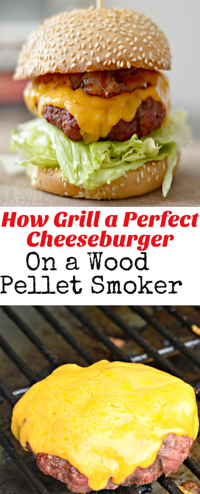 Keep reading to learn how to grill a perfect, smoke-flavored cheeseburger on a wood pellet smoker.