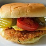 Easy Homemade Fried Chicken Sandwich