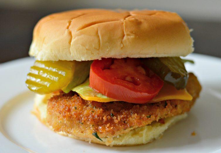 Easy Homemade Fried Chicken Sandwich