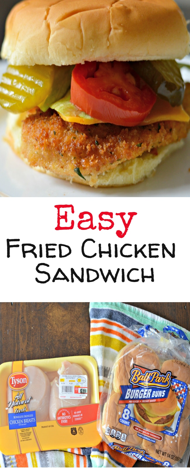 One of my favorite recipes to make, wrap up, and take on these trips is this easy homemade fried chicken sandwich recipe.