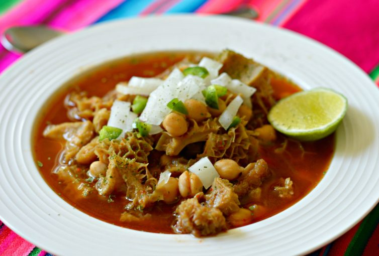 This Authentic Mexican Menudo Recipe is as Mexican as it gets and you will be surprise how good it is!