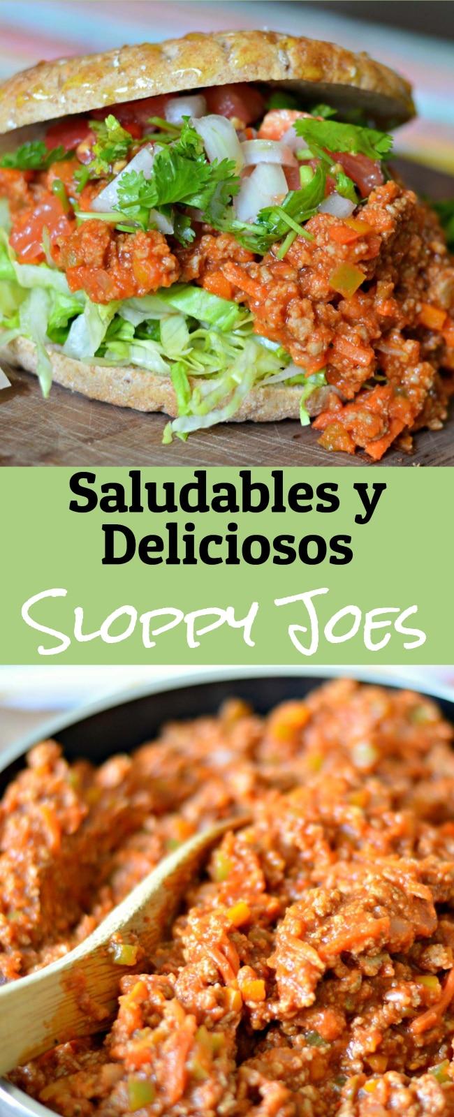 Esta receta de Sloppy Joe ademas de ser deliciosa es completamente saludable y a los niños les encanta! Ademas haz tus propias variaciones, a mi encanta ponerle el toque mexicano con pico de gallo encima, pruebalo!