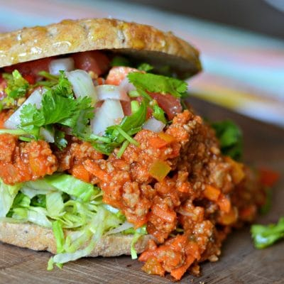 Saludable y Delicioso Sloppy Joe