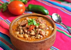Charro Beans is an authentic Mexican recipe that is mainly consumed in the northern part of Mexico and is commonly served alongside carne asada.