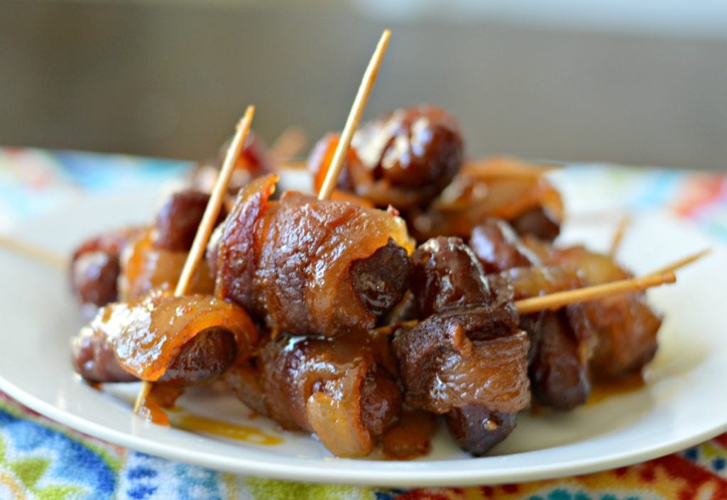 Bacon Wrapped Smokies 4