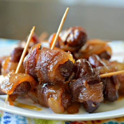 Brown Sugar, Bacon Wrapped Smokies Recipe