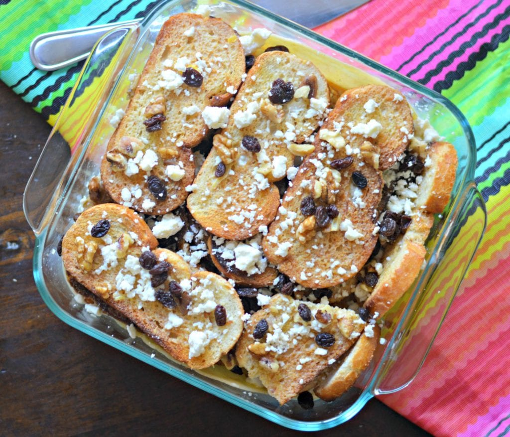 Mexican Bread Pudding Capirotada