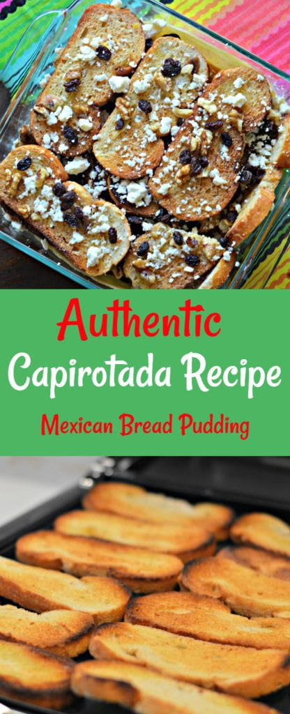 Inside: Keep reading to find out how to make an authentic Capirotada (Mexican Bread Pudding) recipe, which is a delicious Mexican dessert.