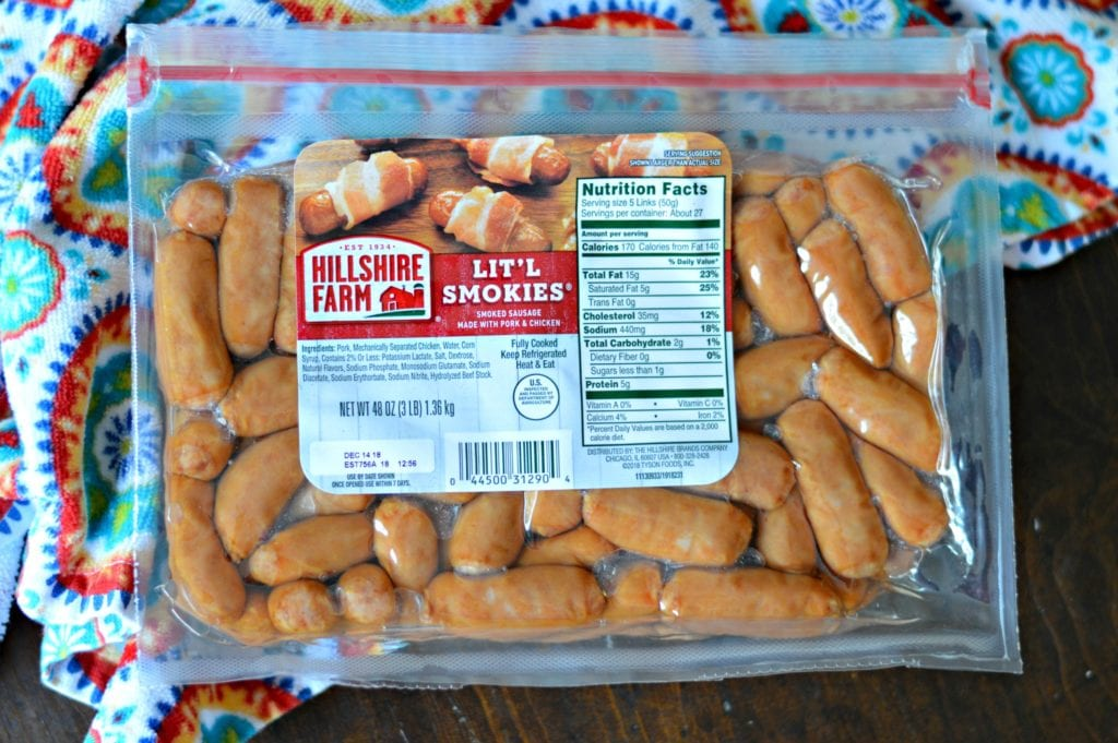 Hillshire Farms Litl Smokies 1