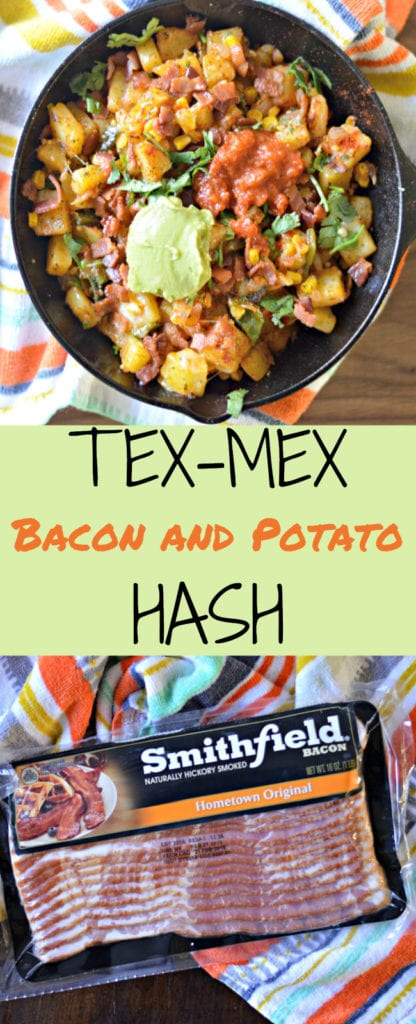 If you are looking for a super easy and delicious hash recipe, try this TEX-MEX Bacon and Potato Hash
