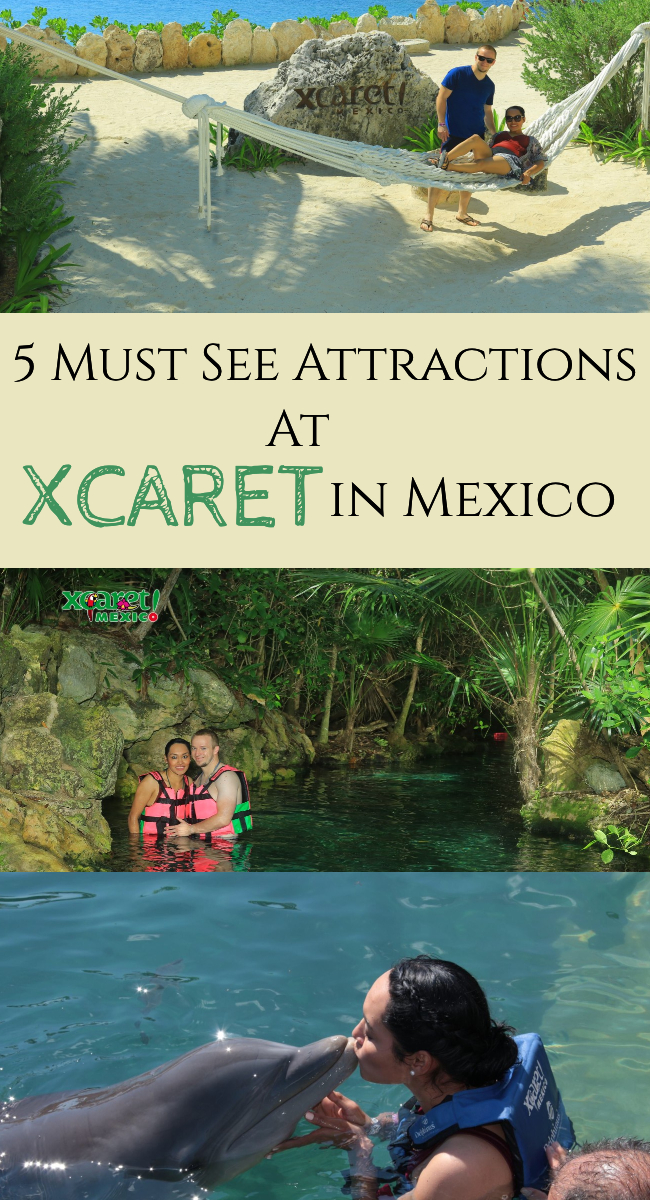 5 Must See Attractions at XCaret in Mexico