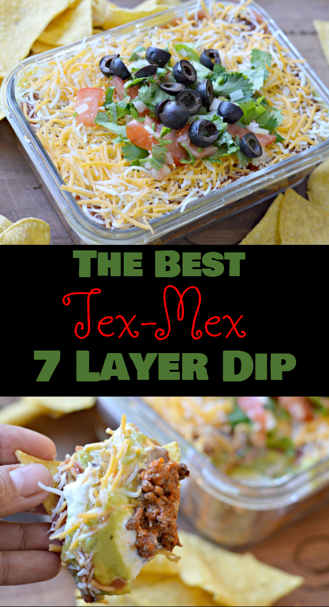 Learn how to make the classic 7 layer dip with a tex-mex twist by adding delicious Mexican style chorizo and pico de gallo.
