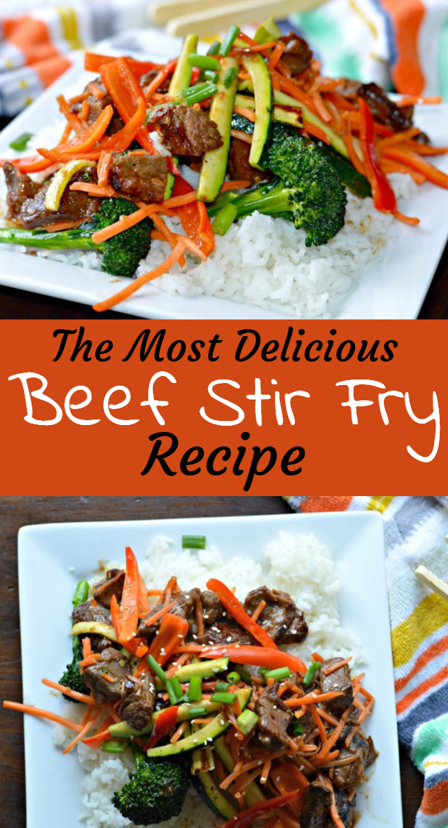 Find out how to make this delicious beef stir fry recipe, which is loaded with fresh veggies and perfectly seasoned flank steak.