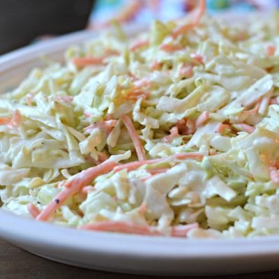 The Best Homemade Coleslaw Recipe (Easy Too!)