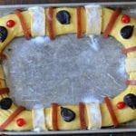 Rosca de Reyes ready to bake