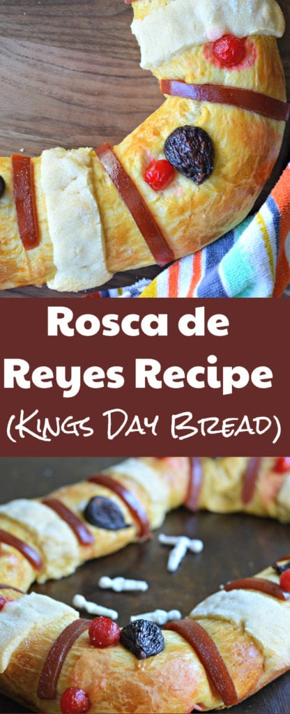 Learn all of the steps for making a traditional Rosca de Reyes (Kings Day Bread) that everyone will enjoy for years to come.