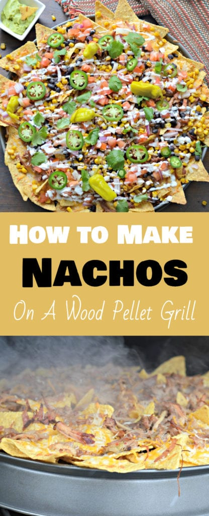Learn how to use your new Traeger wood pellet smoker to make the best nachos you will ever try!