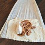 sweet tamales process pecan and dulce de leche