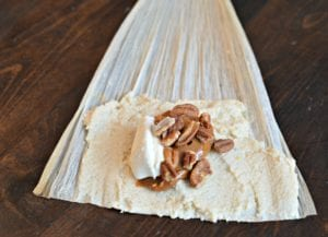 sweet tamales process pecan and dulce de leche