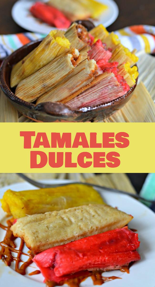 Los tamales dulcesson muy populares en las calles mexicanas, los hay de todos los sabores y colores y son especiales para compartir con un atole como este o chocolate caliente en los dias nublados, de lluvia y frio