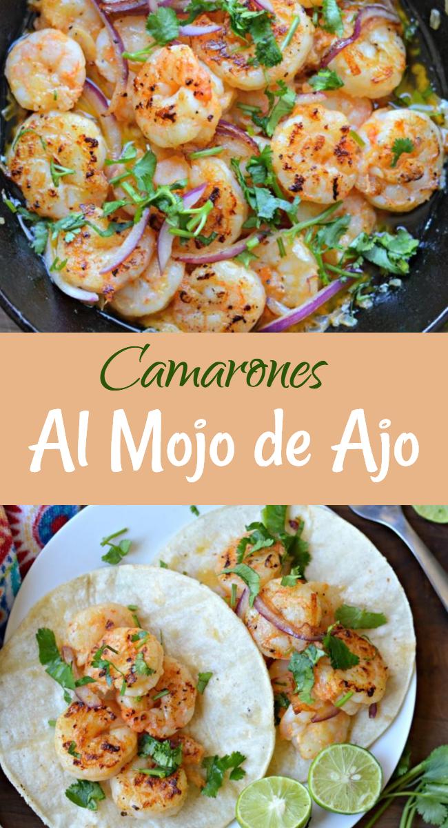 Aprende comohacer estos deliciososy fáciles Camarones al Mojo de Ajo, muy fáciles para preparar pero deliciosos para disfrutar en cualquier momento de el año, pero especialmente en esas fechas importantes cuando quieres sorprender a alguien