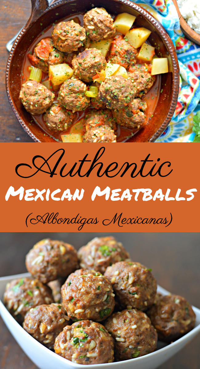 "Find out how to make these delicious, easy to make, Mexican meatballs, known as ""albondigas"" in Spanish."
