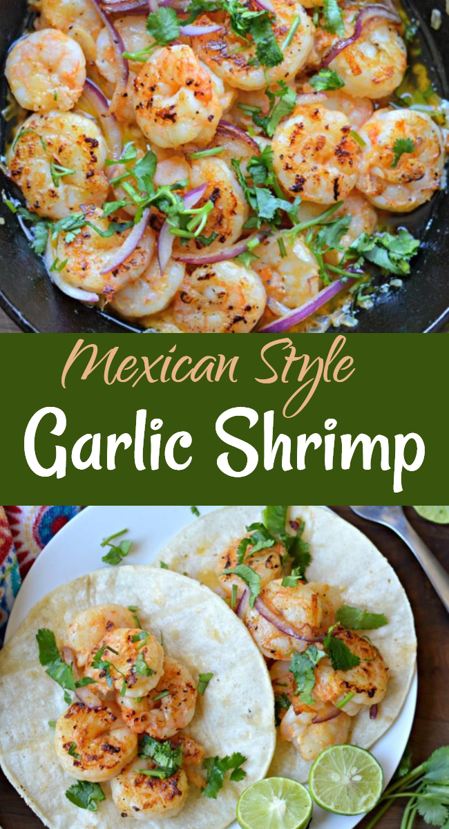 Learn how to make Mexican-style Garlic Shrimp, which are easy to make and delicious at any time of the year.