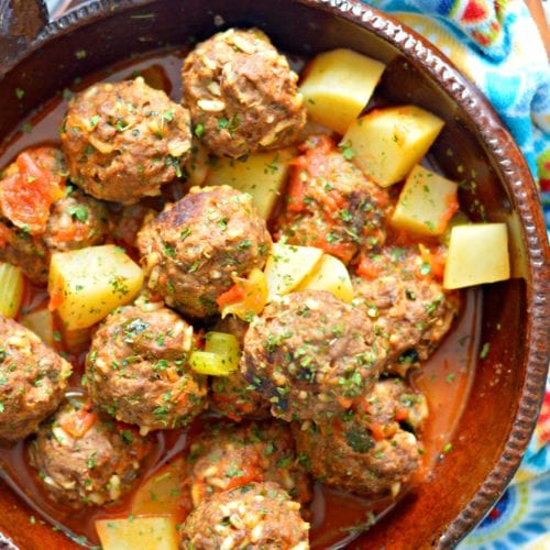 Authentic Mexican Meatballs Recipe Albondigas Mexicanas