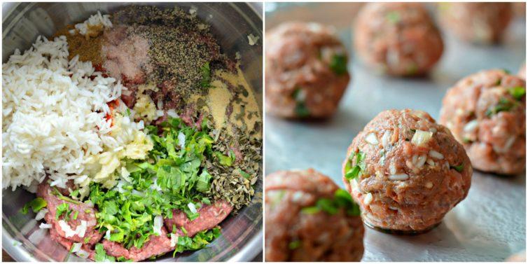 Mexican Meatballs process (albondigas mexicanas)