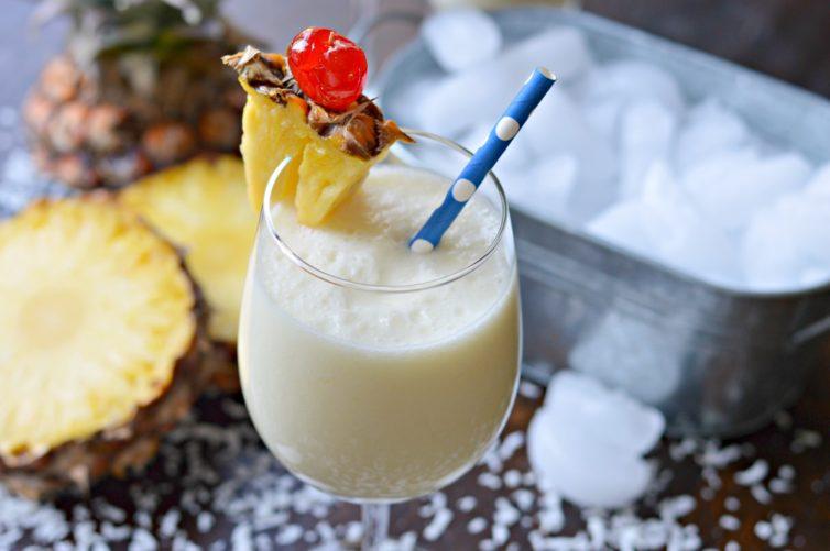 Deliciosa Y Refrescante Piña Colada Piñada My Latina Table