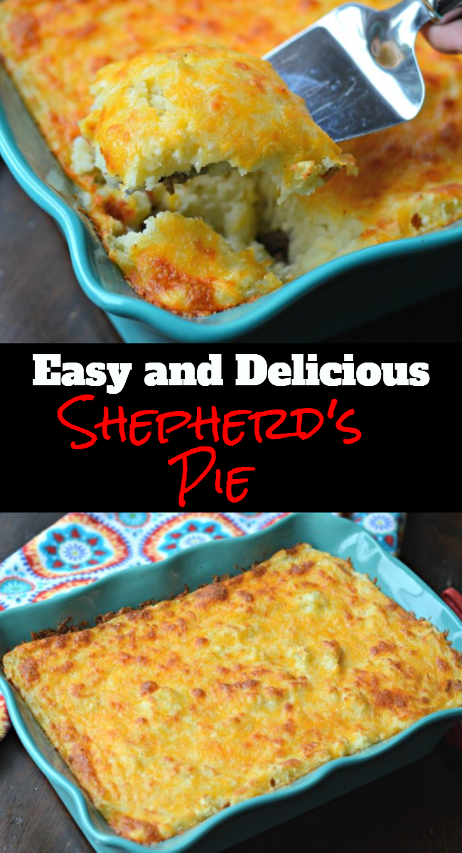 Learn how to make this classic and delicious Shepherd's pie recipe that everyone, big and small will enjoy. It is ideal for any occasion and it is easy to make.