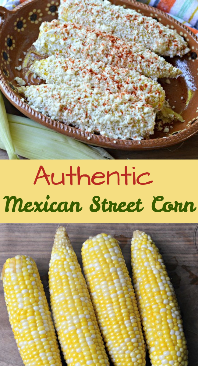 Learn how to make this delicious and authentic Mexican street corn recipe, which is one of the most popular street foods in Mexico.