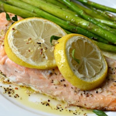 Lemon Garlic Smoked Salmon Recipe