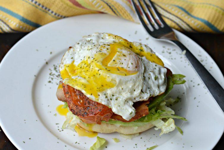 Tex Mex Breakfast BLT ready to eat