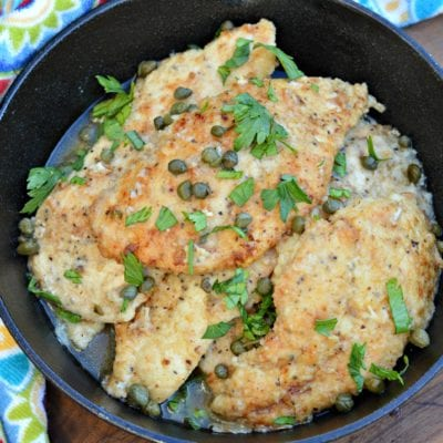 Easy Chicken Piccata Recipe with Lemon