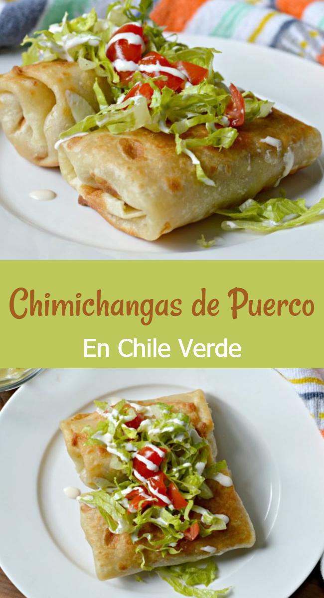 Prepara estas deliciosas chimichangas de puerco al estilo Tex- mex y sorprende a todos tus invitados con este popular platillo de el norte de México y Estados Unidos!