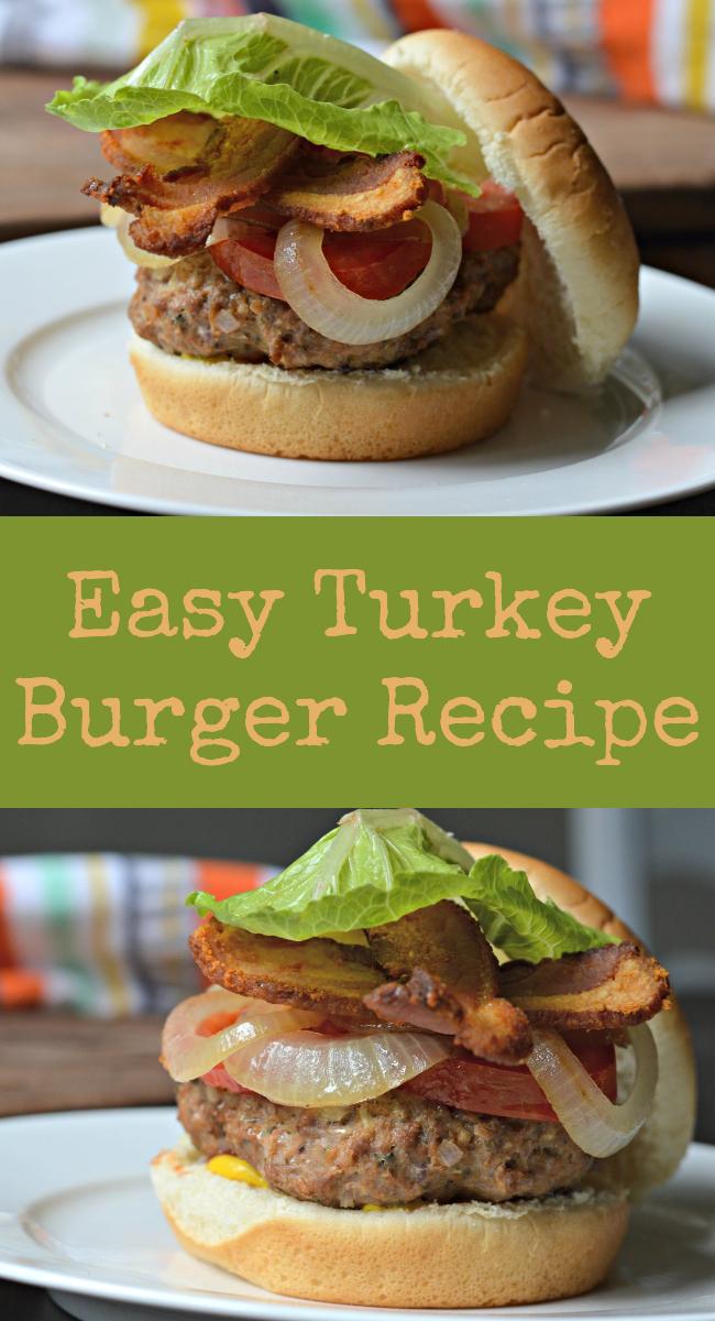 Delicious And Easy Turkey Burger Recipe 50 50 Turkey Ground Beef Mix