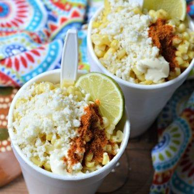 Authentic Mexican Esquites (Mexican Corn Salad)