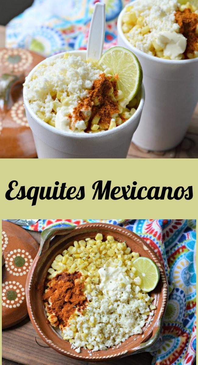 Prepara estos deliciosos esquites mexicanos, populares en las calles de México, faciles, economicos y deliciosos!