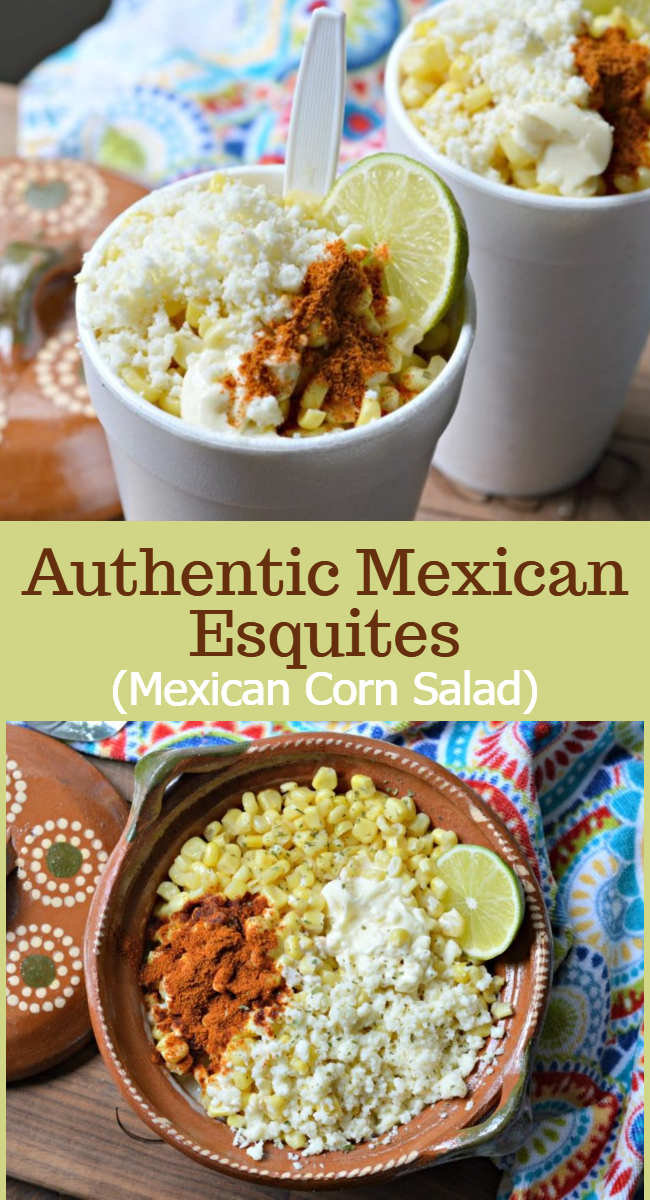 Learn how to make these delicious and authentic Mexican esquites, which are one of the most popular street foods in Mexico. They are inexpensive to make and taste great!