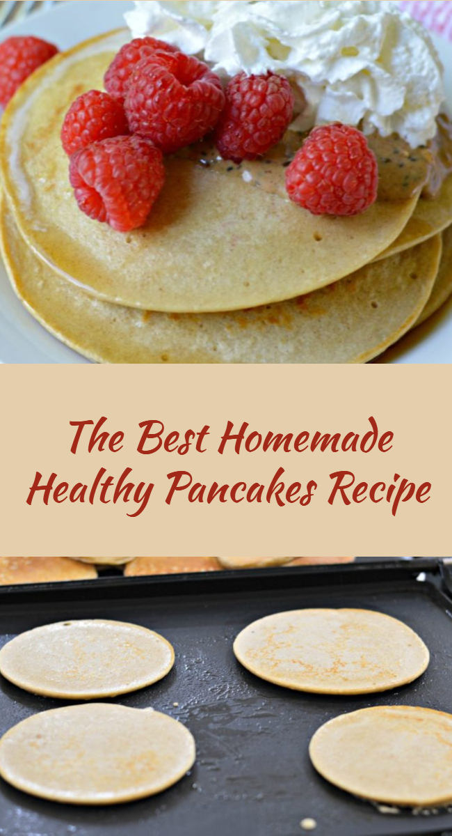 Learn how to make these delicious and healthy pancakes, which are ideal for breakfast, and which include healthy ingredients that will give you all the energy you need to start out your day!