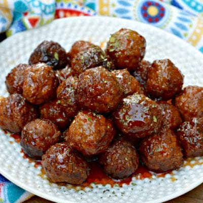 The Best Three Ingredient Crockpot Meatballs