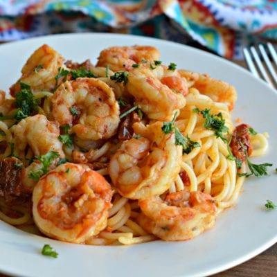 Delicious Italian Shrimp Pasta Recipe