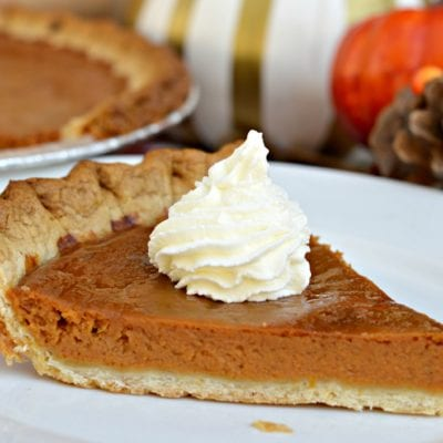 Amazing Homemade Pumpkin Pie Recipe