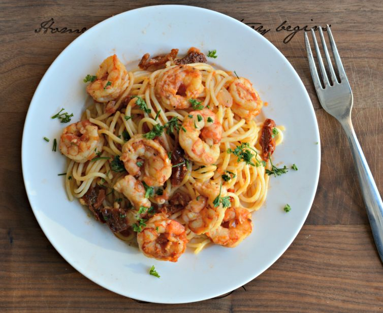 Delicious Italian Shrimp Pasta Recipe My Latina Table