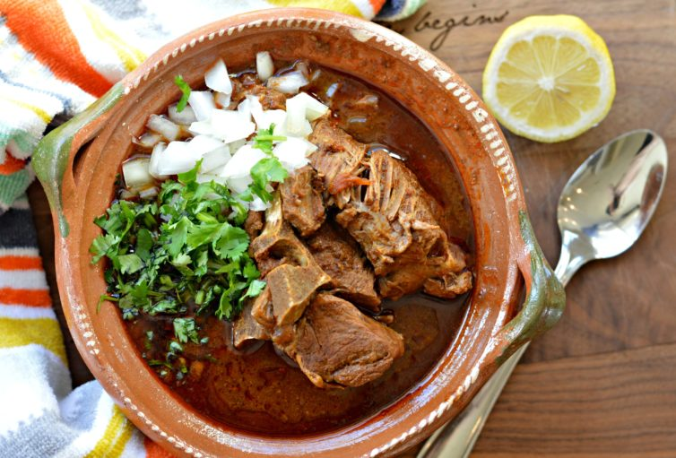 Traditional birria