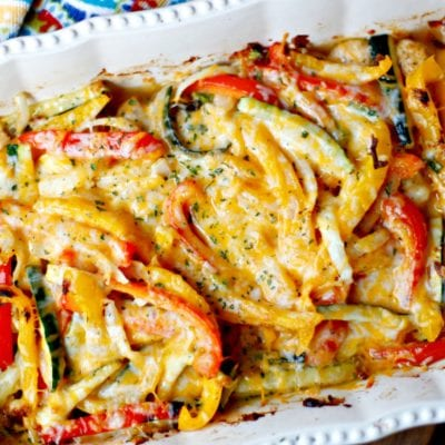 Easy Chicken Fajita Casserole Recipe