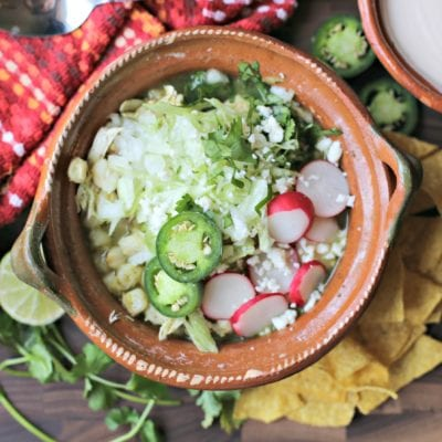 Authentic Mexican Pozole Verde Recipe