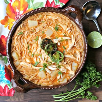 Authentic Sopa de Fideo Recipe
